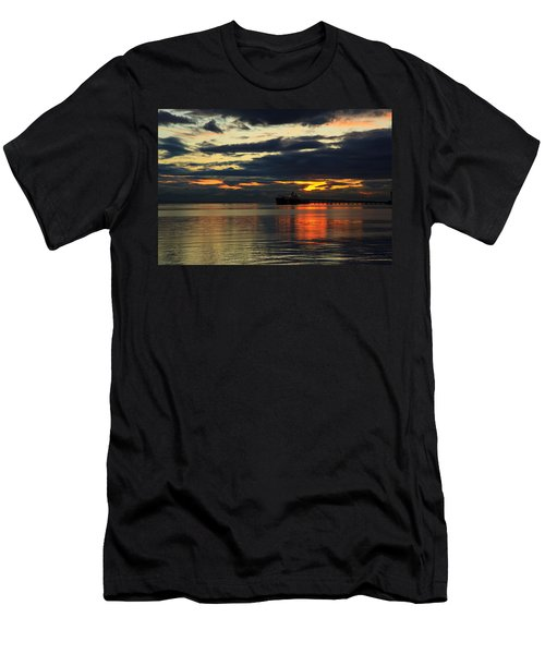 Tsawassen Sunset Men's T-Shirt (Athletic Fit)