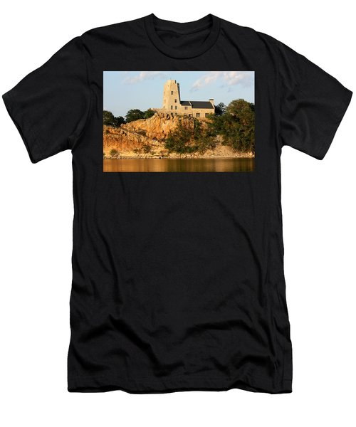 Tucker's Tower Lake Murray Oklahoma Men's T-Shirt (Athletic Fit)