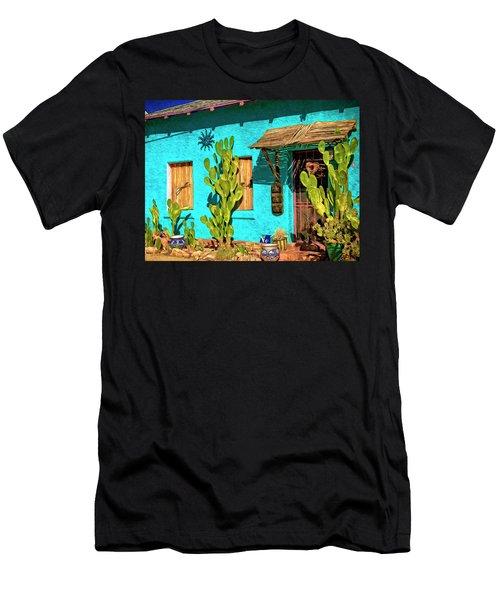 Tucson Blue Men's T-Shirt (Athletic Fit)