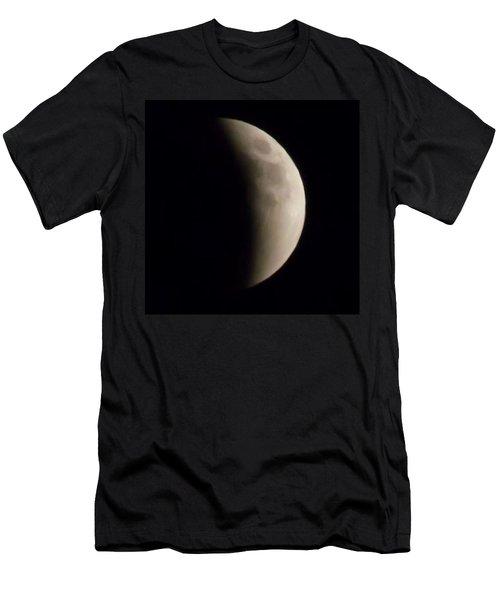 Tucson Moon Sept 27, 2015 Men's T-Shirt (Athletic Fit)