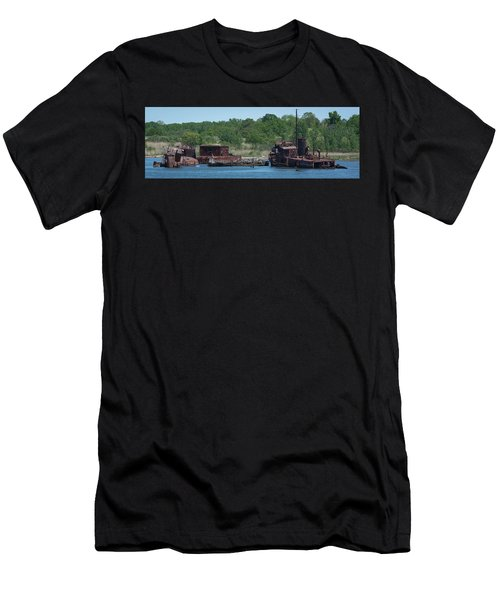 Tugboat Graveyard Men's T-Shirt (Athletic Fit)