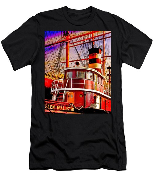 Tugboat Helen Mcallister Men's T-Shirt (Athletic Fit)