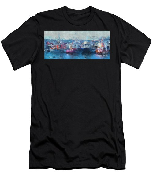 Tugs Together  Men's T-Shirt (Athletic Fit)
