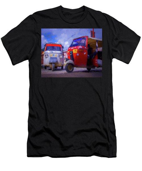 Tuk Tuks  Men's T-Shirt (Athletic Fit)