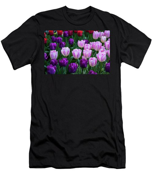 Tulip Blush Men's T-Shirt (Athletic Fit)