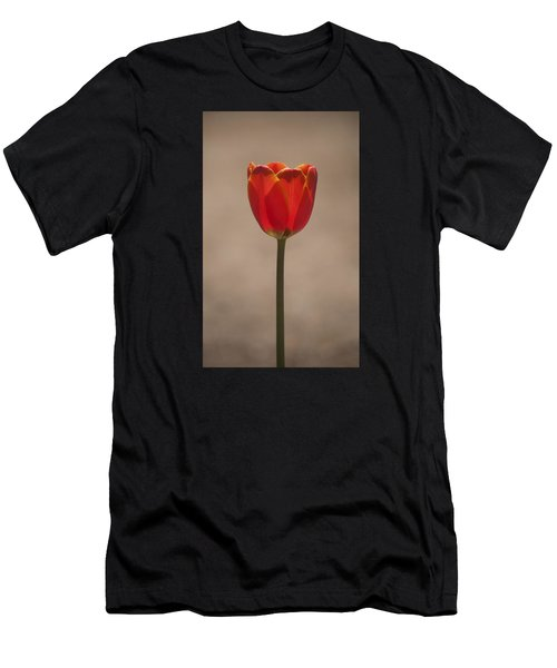 Tulip En Fuego Men's T-Shirt (Athletic Fit)
