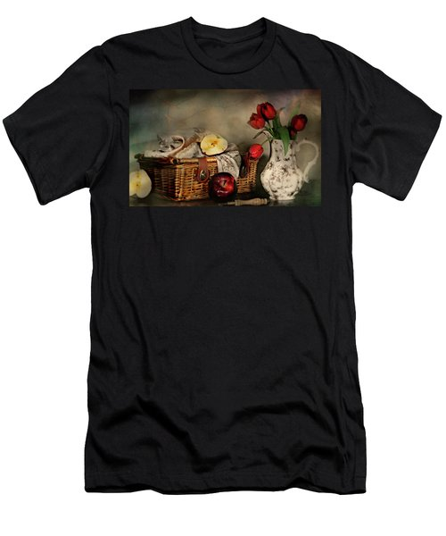Basket And All Men's T-Shirt (Athletic Fit)