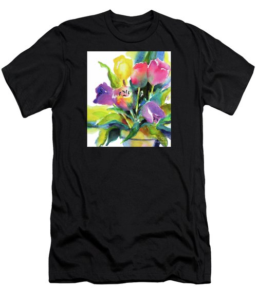 Tulip Pot Men's T-Shirt (Athletic Fit)