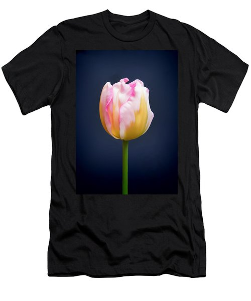 Men's T-Shirt (Athletic Fit) featuring the photograph Tulip Triumph - 2 by Paul Gulliver