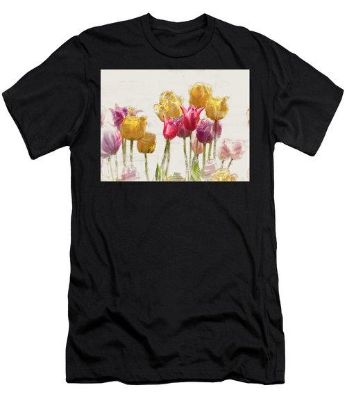 Tulipe Men's T-Shirt (Athletic Fit)