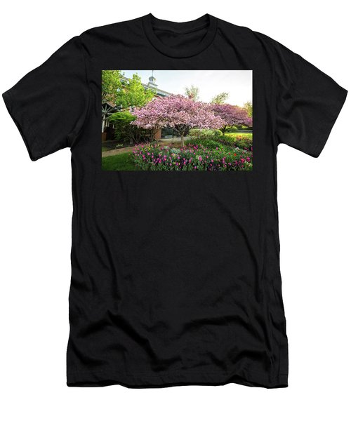 Tulips And Crabapples Men's T-Shirt (Athletic Fit)
