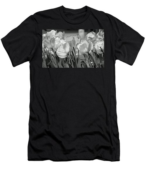 Men's T-Shirt (Slim Fit) featuring the photograph Tulips by JoAnn Lense