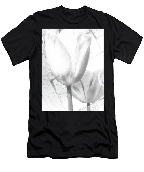 Tulips No. 3 Men's T-Shirt (Athletic Fit)