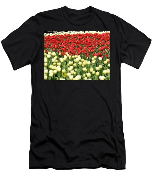 Tulips Of Spring Men's T-Shirt (Athletic Fit)