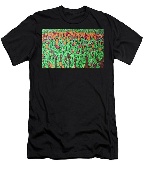 Tulips Tulips Everywhere Men's T-Shirt (Athletic Fit)
