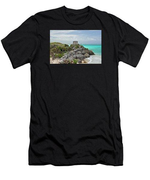 Tulum Mexico Men's T-Shirt (Athletic Fit)
