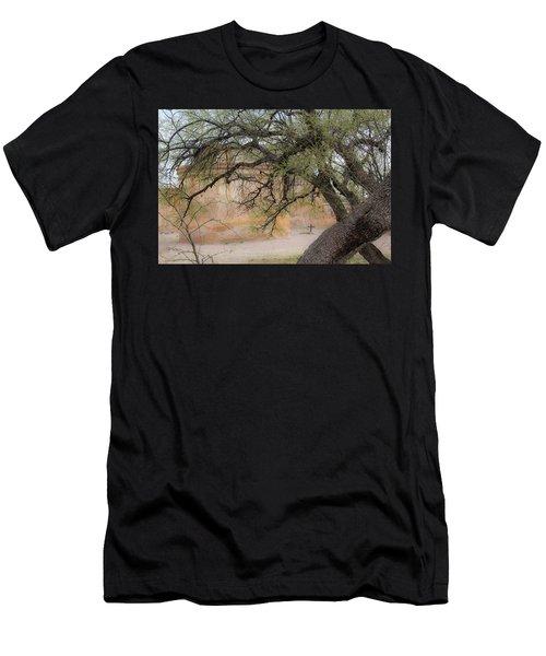 Tumacacori Mission Men's T-Shirt (Athletic Fit)