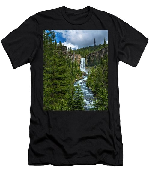 Tumalo Falls Men's T-Shirt (Athletic Fit)