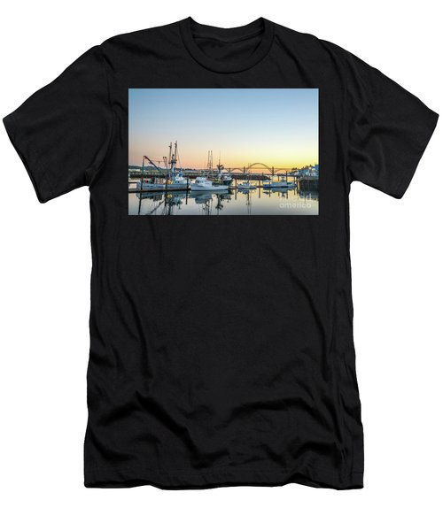 Tuna Boats Resting For The Night Men's T-Shirt (Athletic Fit)