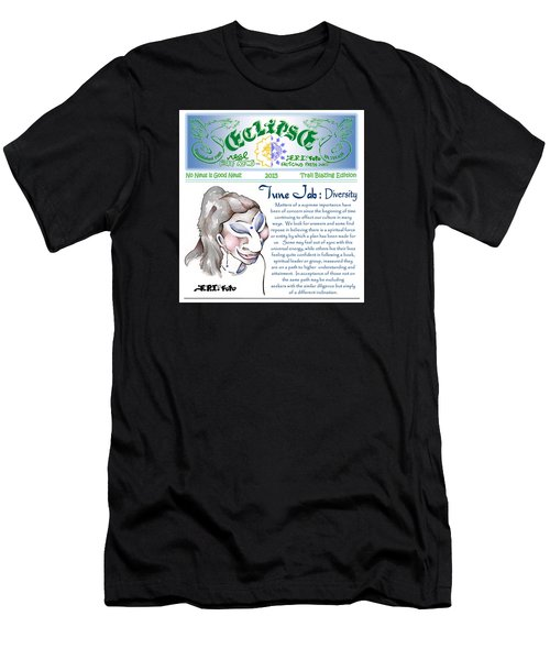 Real Fake News Spiritual Columnist 1 Men's T-Shirt (Athletic Fit)