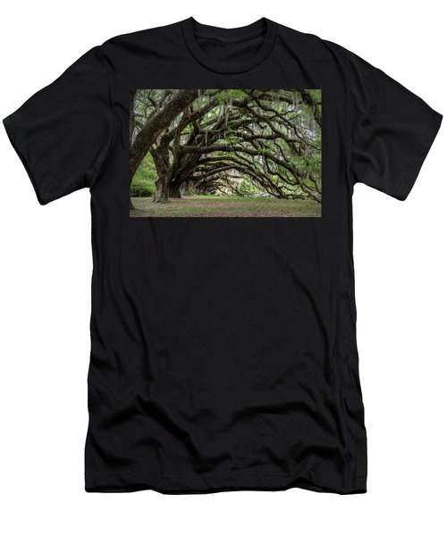 Men's T-Shirt (Slim Fit) featuring the photograph Tunnel In Charleston by Jon Glaser