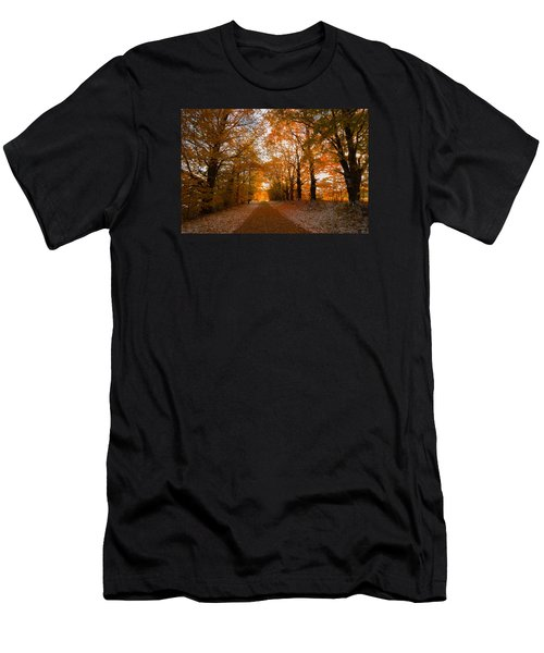 Tunnel Through Morning Backlight Men's T-Shirt (Athletic Fit)
