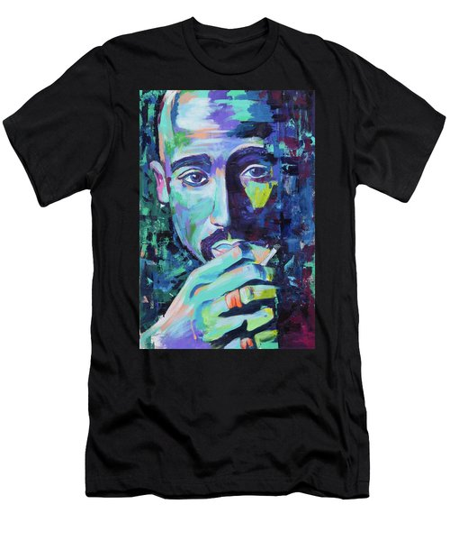Tupac Men's T-Shirt (Athletic Fit)