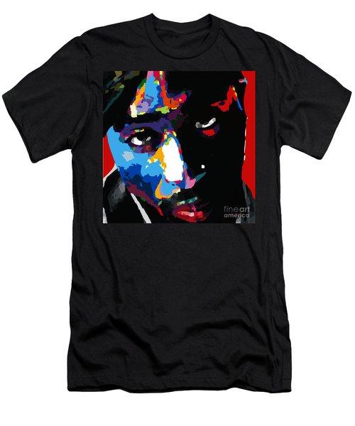 Tupac Shakur Men's T-Shirt (Athletic Fit)