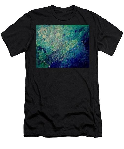 Turbulent Sea Men's T-Shirt (Athletic Fit)