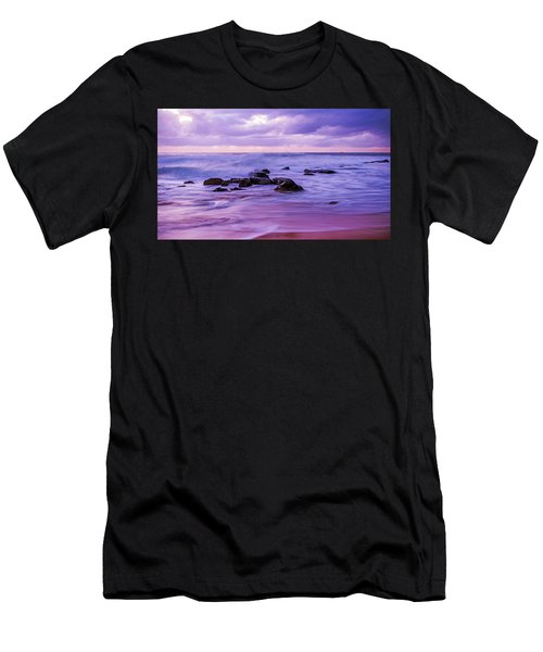 Turbulent Daybreak Seascape Men's T-Shirt (Athletic Fit)