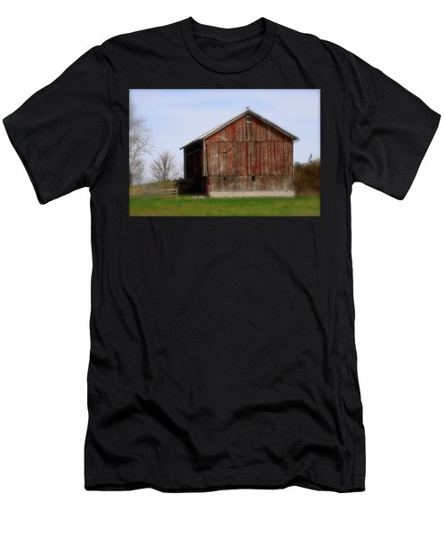 Turkey Vultures Hovering Around The Barn Men's T-Shirt (Athletic Fit)