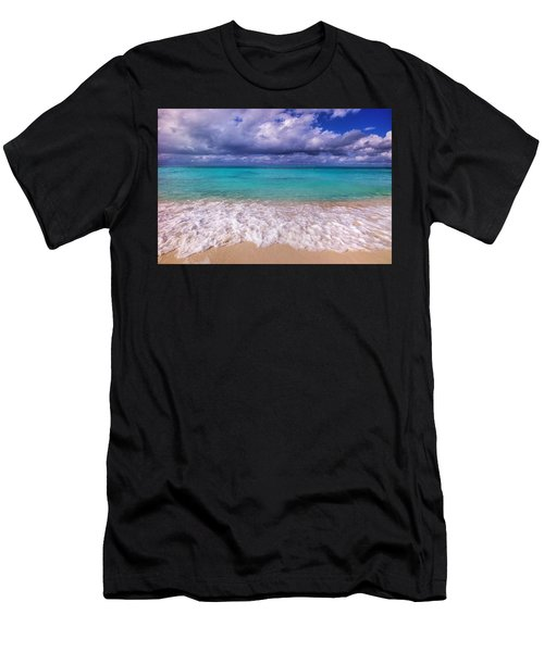 Turks And Caicos Beach Men's T-Shirt (Athletic Fit)