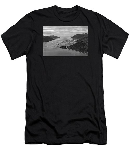 Turnagain Arm Alaska Men's T-Shirt (Athletic Fit)