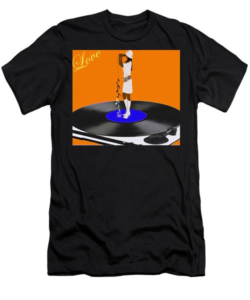 Turntable Love Men's T-Shirt (Athletic Fit)