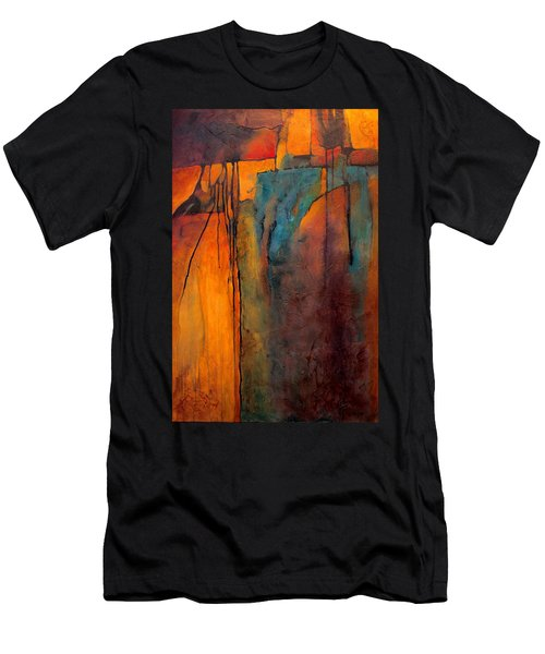 Turquoise Mine Men's T-Shirt (Athletic Fit)