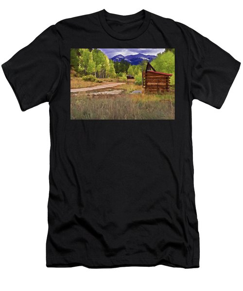 Turrett - Colorado Ghost Town Men's T-Shirt (Athletic Fit)