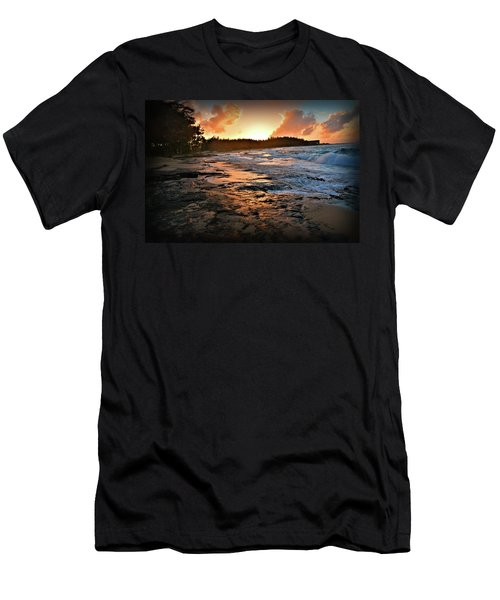 Turtle Bay Sunset 1 Men's T-Shirt (Athletic Fit)
