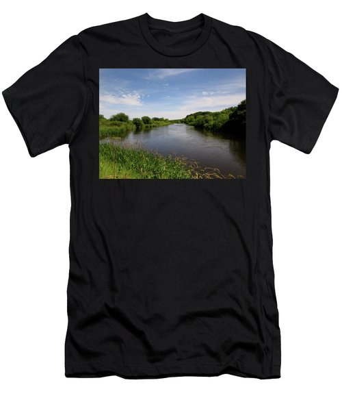 Men's T-Shirt (Slim Fit) featuring the photograph Turtle Creek by Kimberly Mackowski