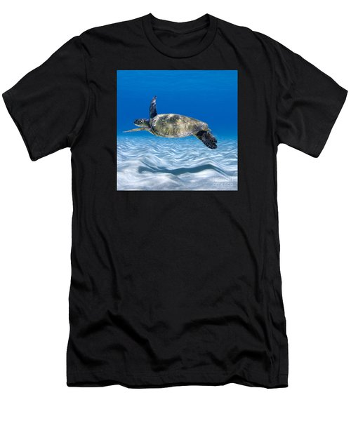Turtle Flight -  Part 2 Of 3  Men's T-Shirt (Athletic Fit)
