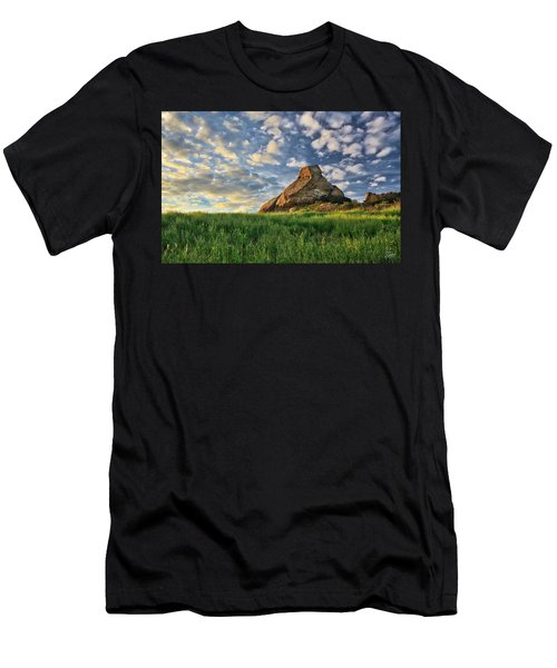 Turtle Rock At Sunset 2 Men's T-Shirt (Athletic Fit)