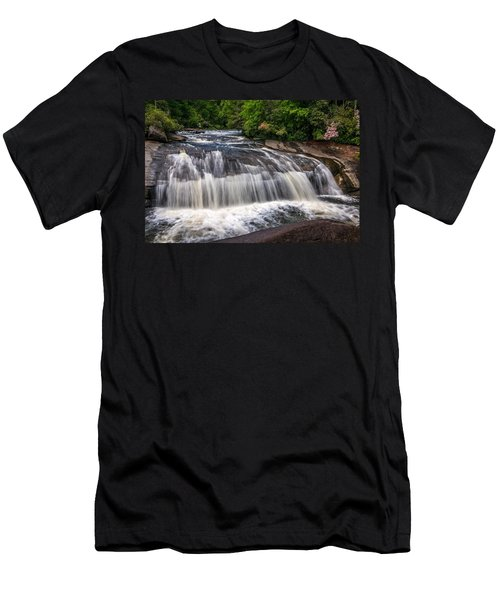 Turtleback Falls Men's T-Shirt (Athletic Fit)