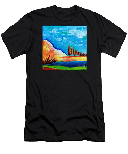 Tuscan Cypress Men's T-Shirt (Athletic Fit)