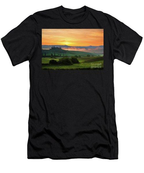 Tuscan Dream II Men's T-Shirt (Slim Fit) by Yuri Santin