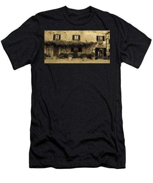 Tuscan Village Men's T-Shirt (Athletic Fit)