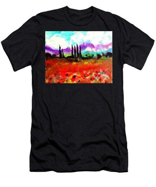 Tuscany Fields Men's T-Shirt (Athletic Fit)