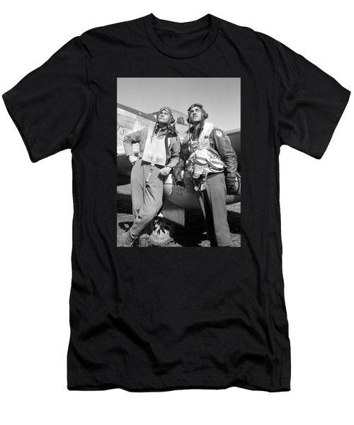 Tuskegee Airmen Men's T-Shirt (Athletic Fit)