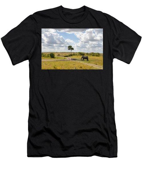 Tusker Scape Men's T-Shirt (Athletic Fit)