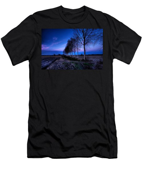 Twilight And Trees Men's T-Shirt (Athletic Fit)