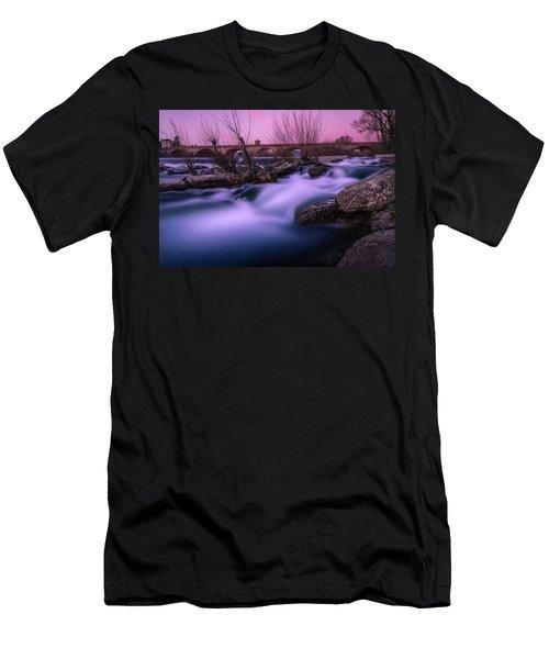 Twilight Falls Men's T-Shirt (Athletic Fit)