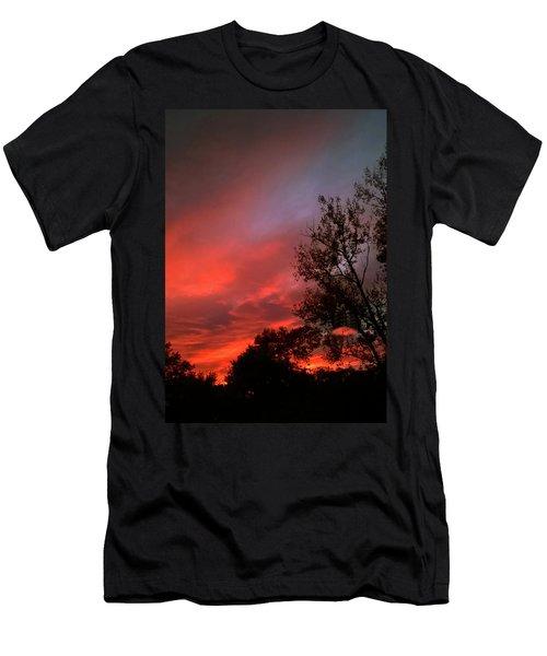 Twilight Fire Men's T-Shirt (Athletic Fit)